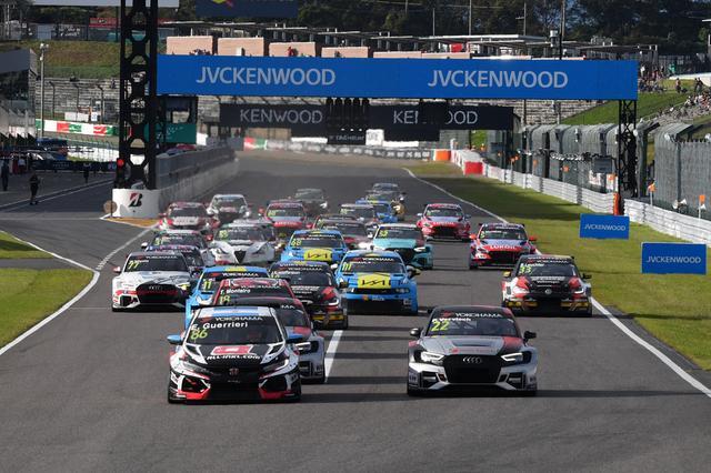 画像1: グエリエリがRace1を完全制覇! 【FIA WTCR Rd08 RACE OF JAPAN】