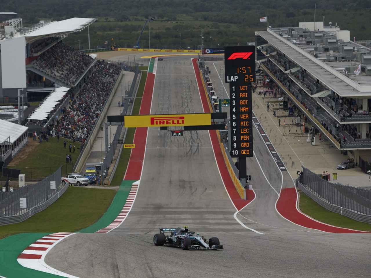 Images : 1番目の画像 - F1アメリカGPプレビュー - Webモーターマガジン