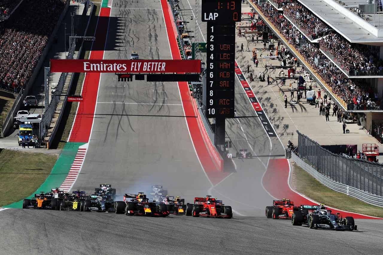 Images : 1番目の画像 - F1第19戦アメリカGP決勝 - Webモーターマガジン