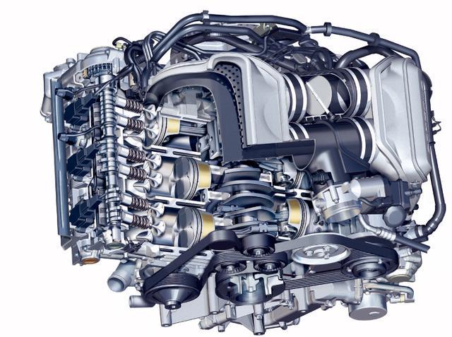 画像: 2WDモデルデビューとともに登場した3.8Lエンジン。3000~.7000rpmで常に350Nmを超えるトルクをコンスタントに発揮。