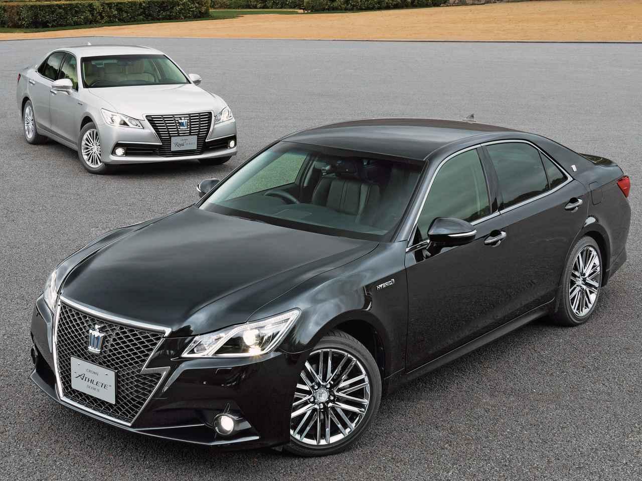 Crown Toyota Lawrence >> 【クラウンの軌跡 14】14代目はさまざまな新技術を投入するとともに、ロイヤルとアスリートの違いを鮮明化 ...