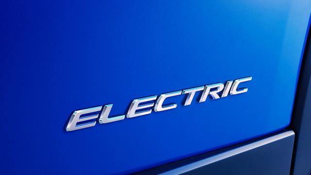 画像: 「ELECTRIC」のエンブレムが付けられている位置は、フェンダーの近くではないかと思われる。