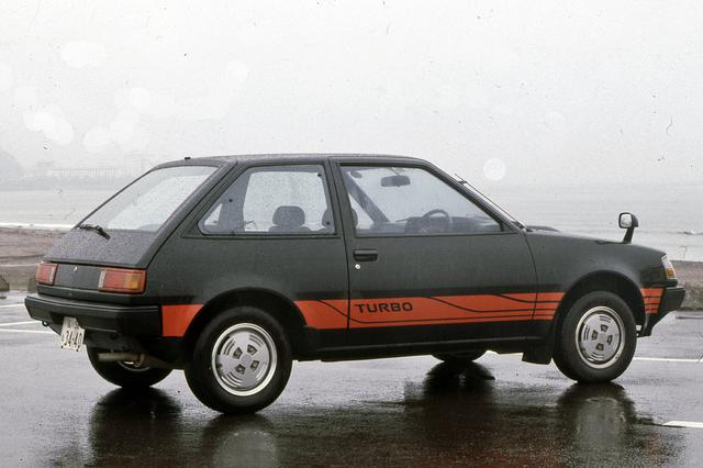 画像: 車名はミラージュIIとなったが、ボディパネルなど基本的にはマイチェン前と大きく変わっていない。