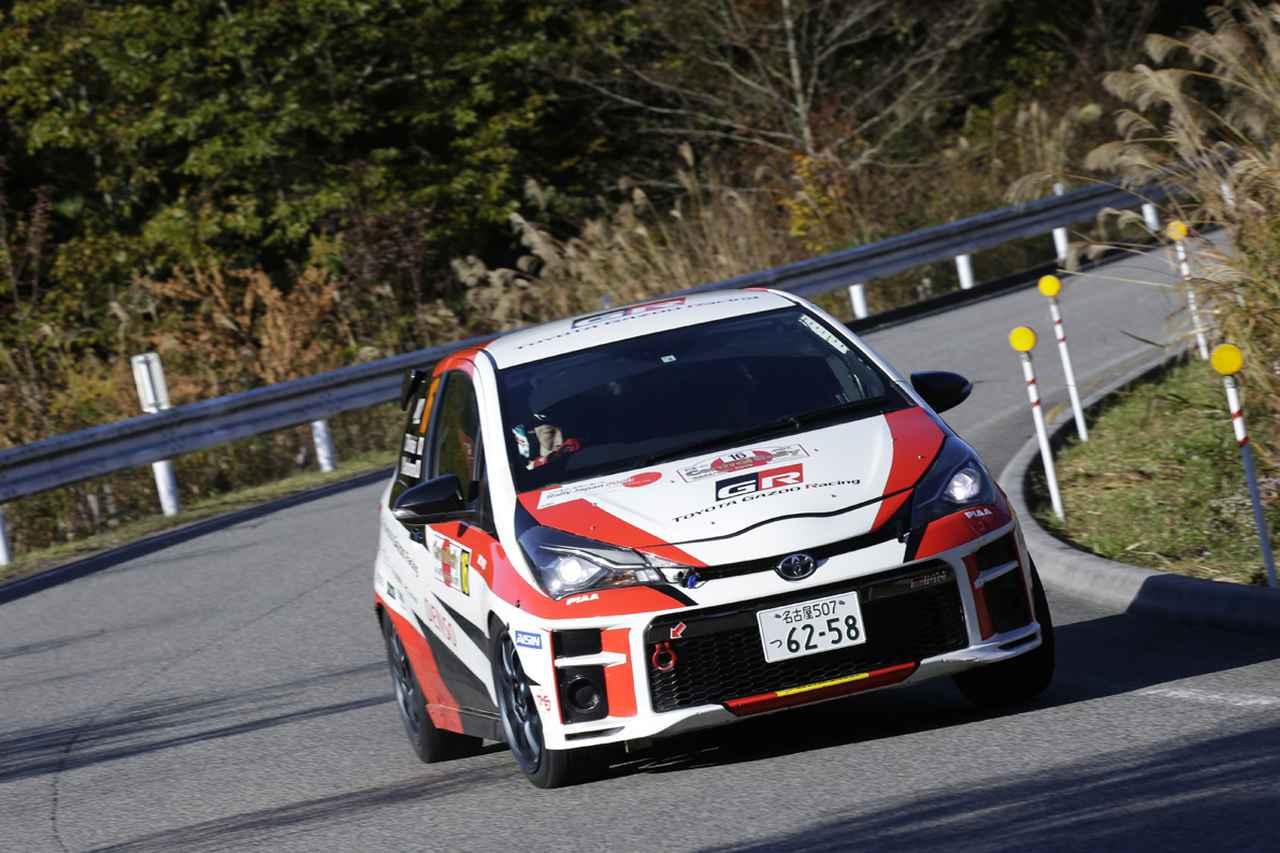 画像: ヴィッツGRMNはこれで走り納め? 来シーズン半ばからはヤリスGR-4で全日本ラリーJN1クラスで戦うことになりそうだ。(写真は11月9日〜10日に開催されたセントラル・ラリー愛知/岐阜でのヴィッツGRMN)