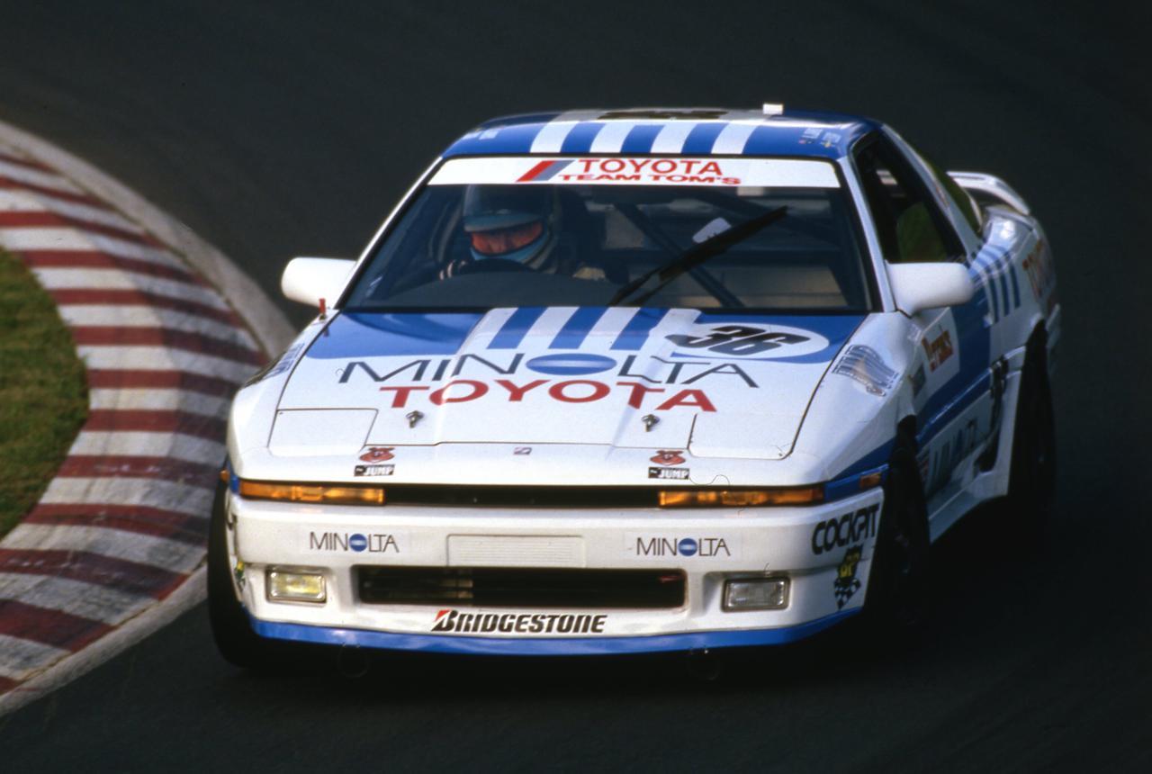 Images : 1番目の画像 - 1987年のスポーツランド菅生でデビューウインを飾ったグループAスープラ - Webモーターマガジン