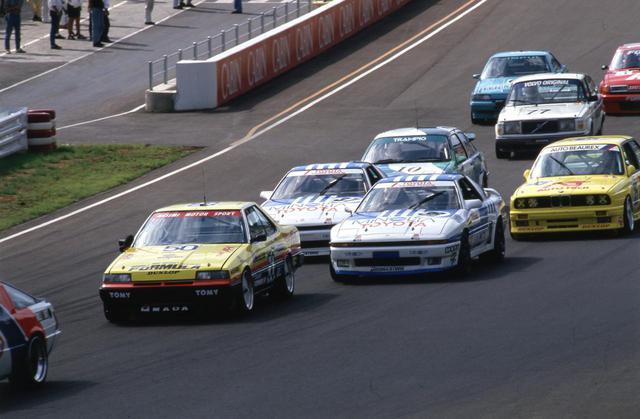 画像: 1987年の全日本ツーリングカー選手権はグループAの名車が百花繚乱した時代とも言える。