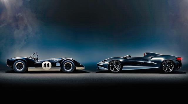 画像: サイドビューは60年代のレーシングカーをインスパイアしたようだ。