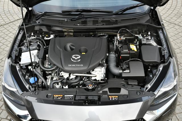 画像: S5-DPTR型1.5Lディーゼルターボエンジンは最高出力105ps、最大トルク250Nm(AT車)を発生する。