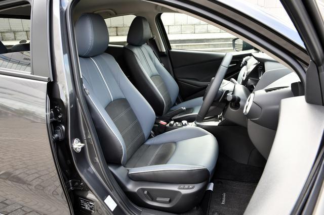 画像: 内部構造を新設計し、きめ細かくチューニングしたマツダが理想的な着座姿勢だと考えるシートを採用する。
