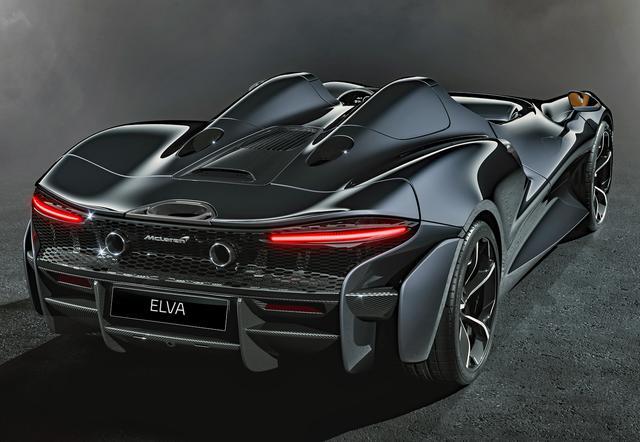 画像: リアまわりもマクラーレン車らしいスタイルだが、迫力は増幅している。