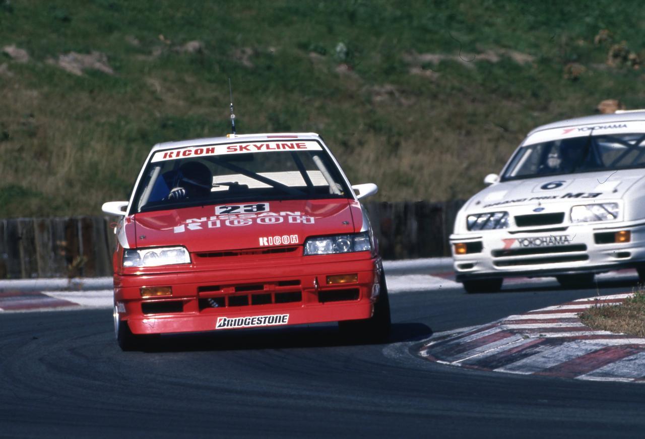 Images : 1番目の画像 - 1988年のインターテックを走るスカイラインGTS-R - Webモーターマガジン