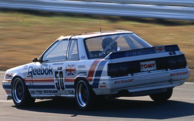 画像: 1988年インターテックでリーボックスカイライン(長谷見昌弘)。予選7位、決勝リタイアという結果だった。