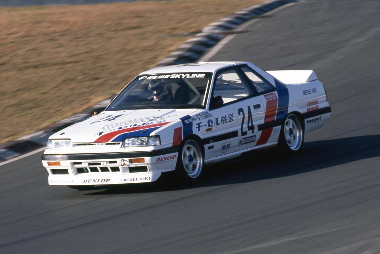 Images : 5番目の画像 - 1988年のインターテックを走るスカイラインGTS-R - Webモーターマガジン