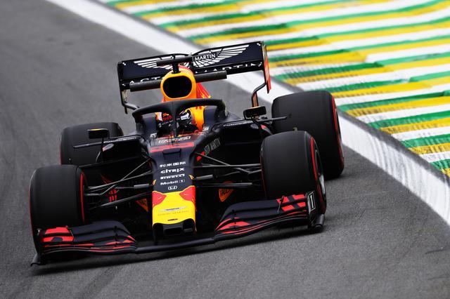 画像: ブラジルGPでポールポジションを獲得したマックス・フェルスタッペン(レッドブル・ホンダ)。