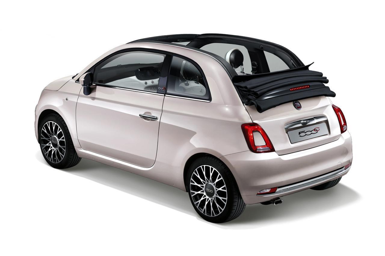 Images : 2番目の画像 - 限定車「フィアット500/ 500C イレジスティービレ(Irresistibile)」 - Webモーターマガジン