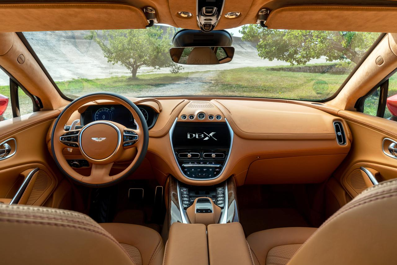 画像: インテリアの豪華さは、ほかのアストンマーティン車と変わらない。