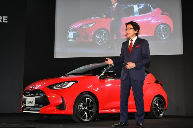 画像: 10月に公開された新型ヤリスは、12月に正式発表されて価格やスペックなどが明らかに。そして2月にようやく国内発売される。量販グレードは,1.5リッターのガソリン車と同ハイブリッド車だ。