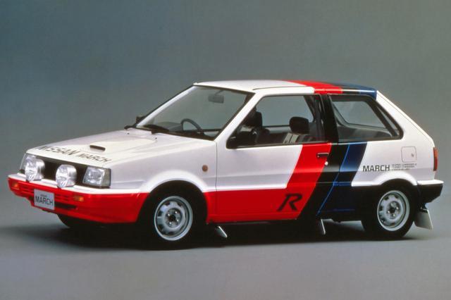 画像: 1988年8月に発売されたマーチRは競技専用マシンだったので、市販型が望まれスーパーターボが誕生する。