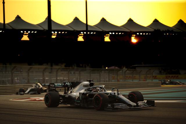 画像: 安定した走りを見せてポールポジションを獲得したルイス・ハミルトン(メルセデスAMG)。