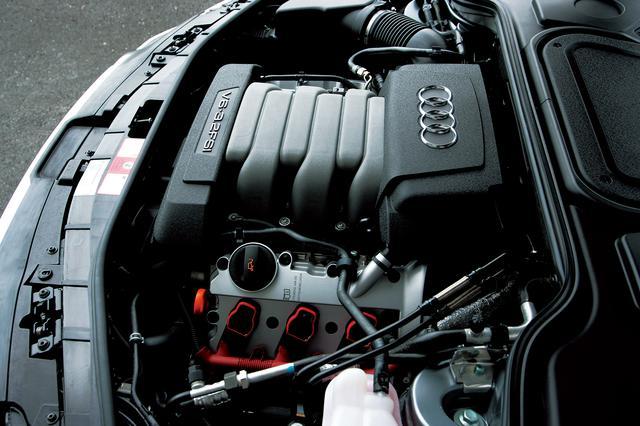 画像: 3.2L V6 FSIエンジン。最高出力260ps、最大トルク330Nm。軽量コンパクトで、ハイパワー、省燃費を特徴とする。