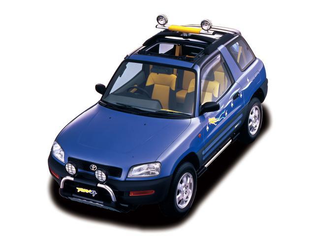 画像: あまりにも斬新なコンセプトゆえ、コンセプトカー登場から市販開始まで4年の年月が必要だった初代RAV4。