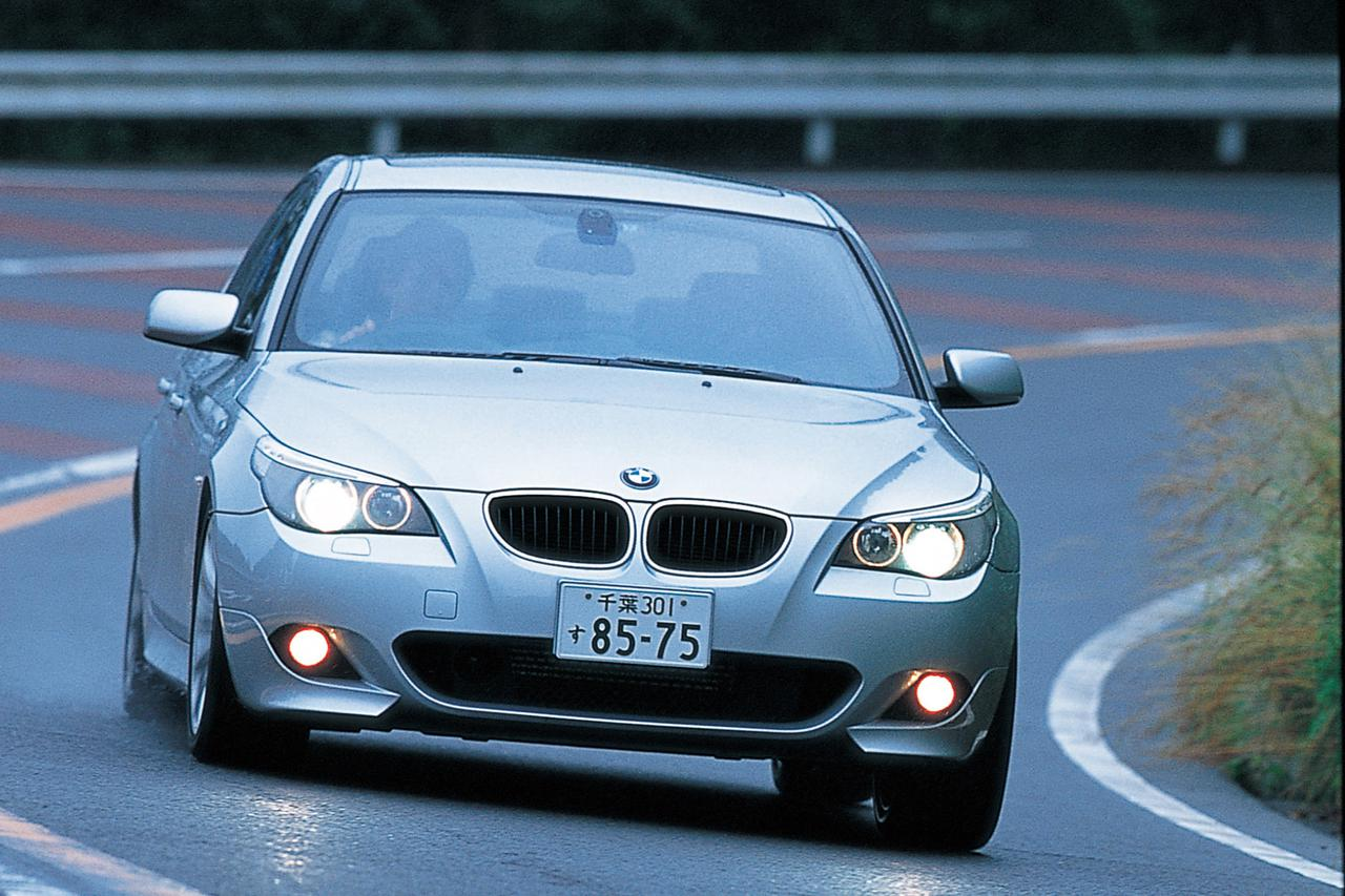 Images : 10番目の画像 - BMW5シリーズ(E60型)2005年フェイスリフト - Webモーターマガジン