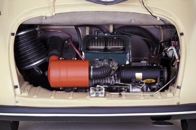 画像: 写真は初期型のエンジンだが、形式的には変わらない。1960年モデルでは18ps/3.2kgmになった。