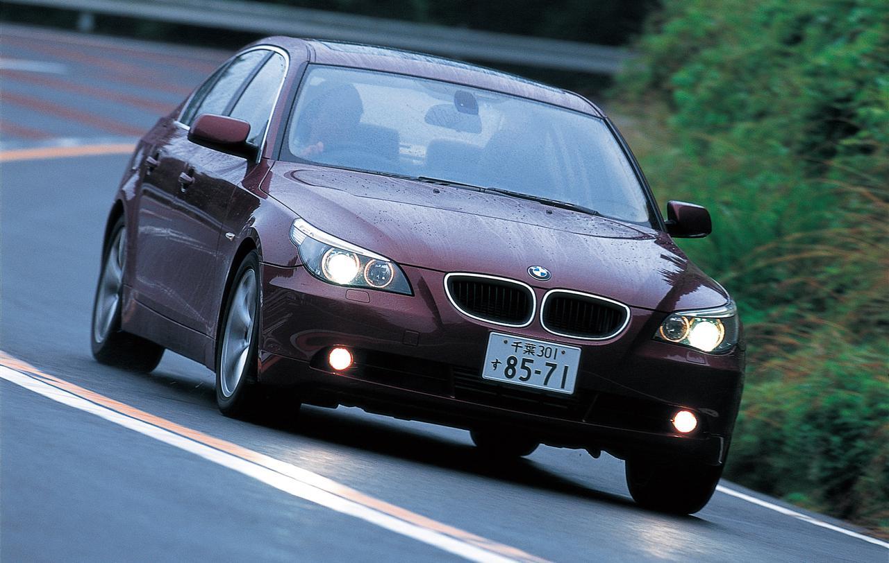 Images : 4番目の画像 - BMW5シリーズ(E60型)2005年フェイスリフト - Webモーターマガジン