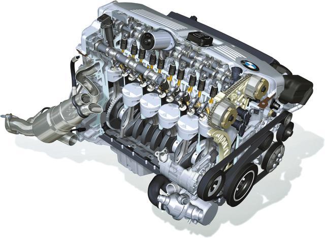 画像: マグネシウム・マグネシウム合金製シリンダーブロック/ヘッドカバー、第二世代バルブトロニック、電動式ウォーターポンプなどを採用した最新世代の直列6気筒エンジン。