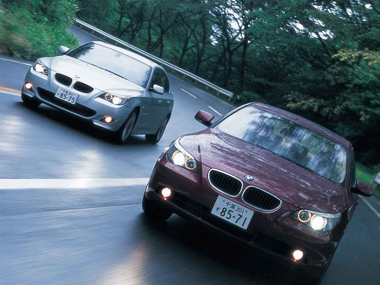 Images : 1番目の画像 - BMW5シリーズ(E60型)2005年フェイスリフト - Webモーターマガジン