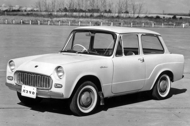 画像: 初代パブリカは基本スタイルをほとんど変えずに1969年まで生産され、当時としてはロングセラーだった。