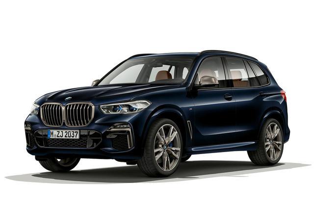 画像: 4.4L V8ツインターボエンジンを搭載したMパフォーマンスモデル、BMW X5 M50iが追加された。