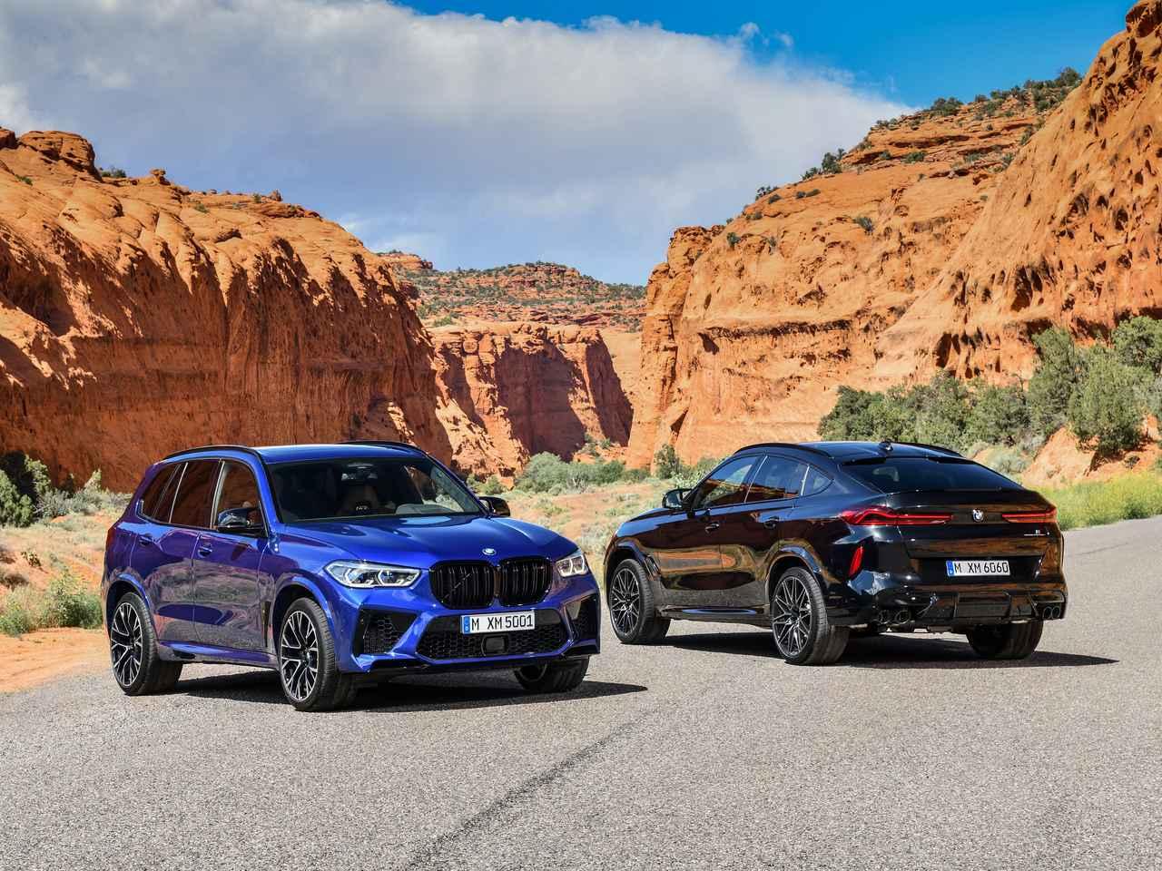 Images : 1番目の画像 - BMW X5 M/X6 M(3代目) - Webモーターマガジン