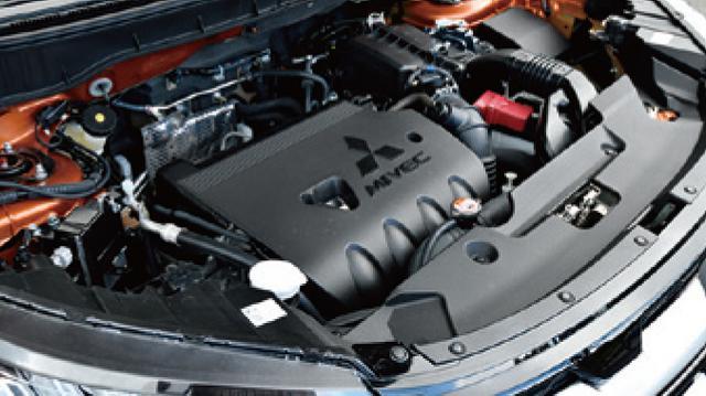 画像: 4J10型MIVECエンジンは、最高出力139ps、最大トルク172Nm。けっしてパワフルではないが実用性に富む。