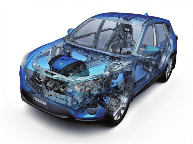 画像: SKYACTIV TECHNOLOGY(スカイアクティブ テクノロジー)は具体的な技術というよりも、マツダの設計思想とといえるものだ。