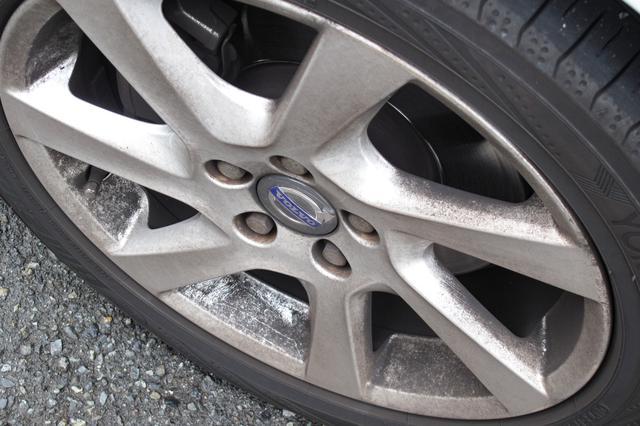 画像: 輸入車特有のホイールの汚れは、ブレーキパッドを交換することで抑制することができる。