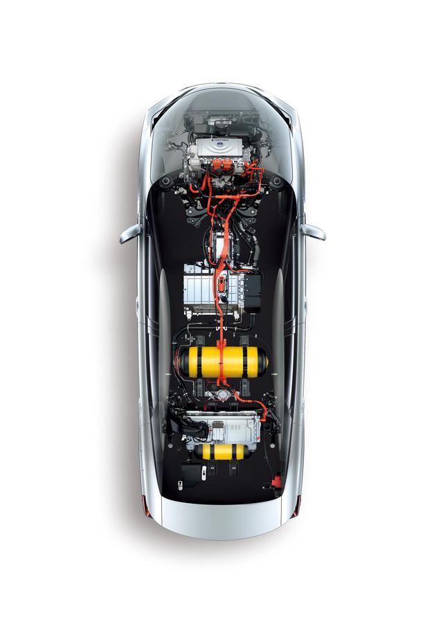 画像: 車内に水素タンクを搭載し化学反応で発電、その電力でモーターを駆動するというのがFCVの考え方だ。