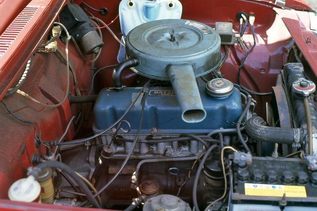 画像: A型エンジンは日産の小型エンジンの名機として、モータースポーツなどでも活躍する。