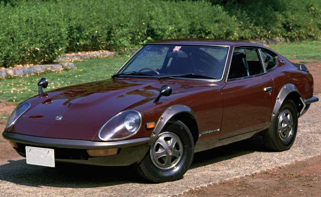 画像: 1971年に登場した日産240ZGの最高速は210km/h(AT車200km/h)、0→400m加速は15.8秒(AT車16.9秒)をマークした。