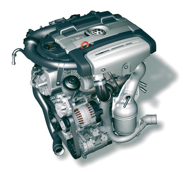 画像: ゴルフGTに搭載されるガソリンエンジン「1.4TSIツインチャージャー」。最高出力は170ps/6000rpm、最大トルクは240Nm/1750-4500rpm。