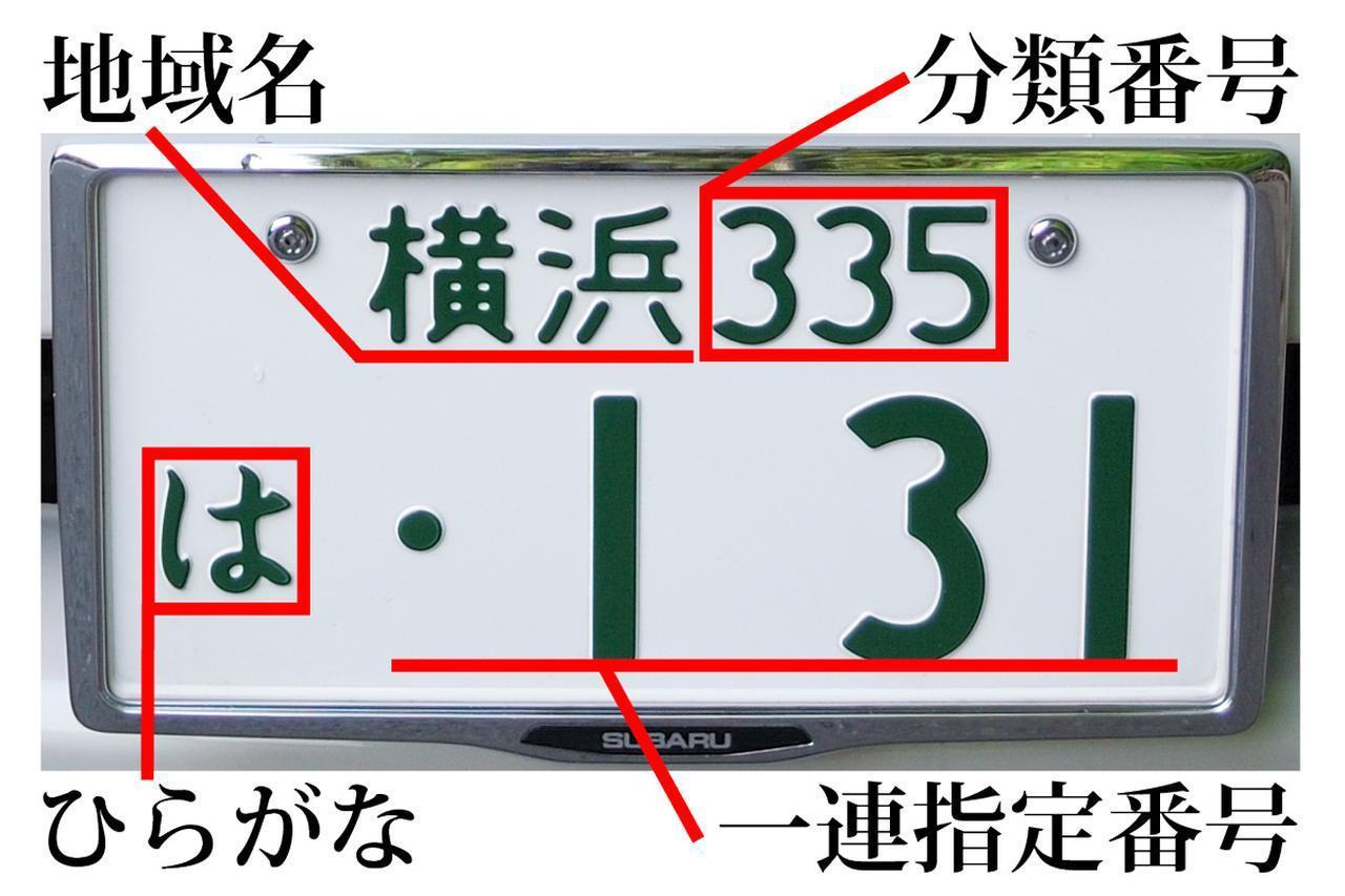 Images : 3番目の画像 - アルファベットの入ったナンバープレート - Webモーターマガジン