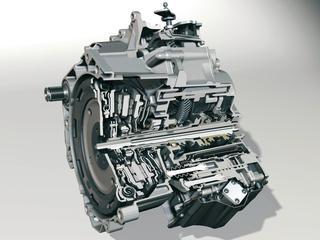 フォルクスワーゲンの6速DSG(DCT)のカットモデル。