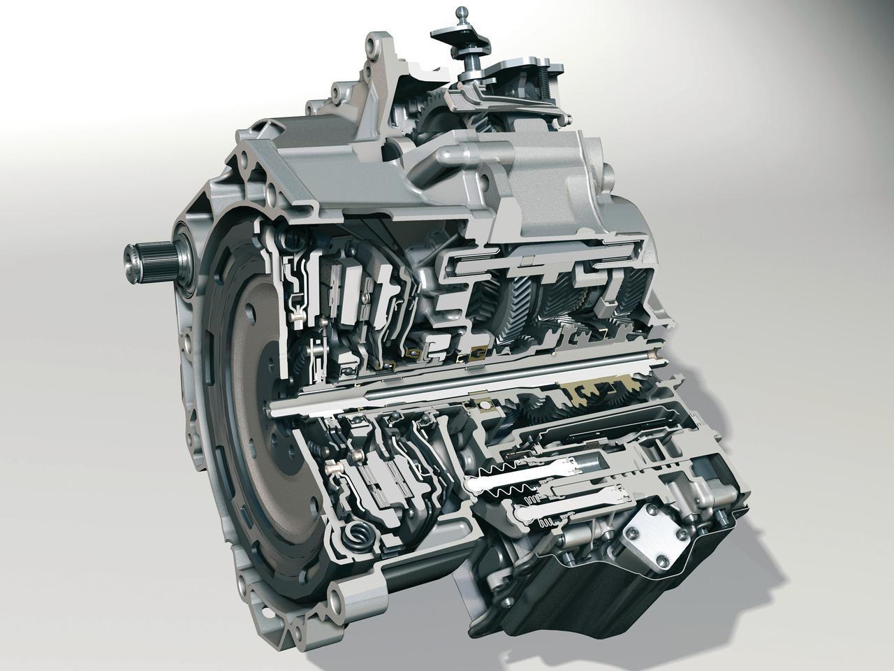 Images : フォルクスワーゲンの6速DSG(DCT)のカットモデル。