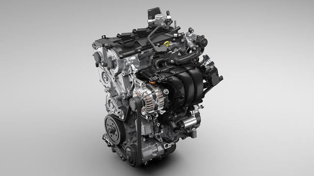 画像: 新型トヨタ「ヤリス」に搭載される新開発1.5L直列3気筒エンジン。ハイブリッドシステムとも組み合わされる。