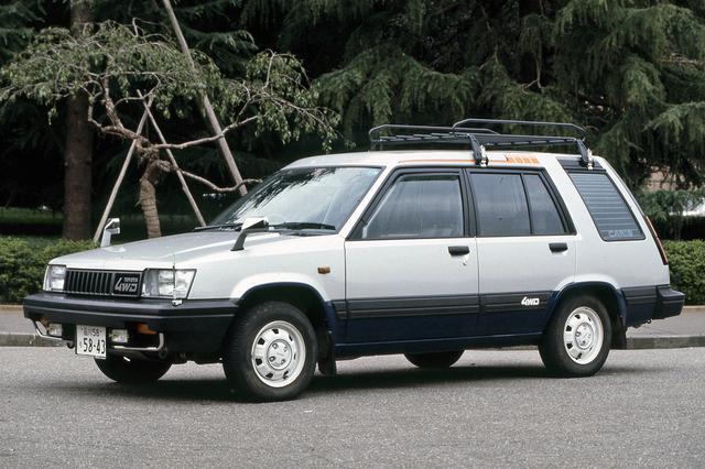 画像: 車名にスプリンターとは付いているが、ベース車はターセル/コルサ/カローラIIだ。
