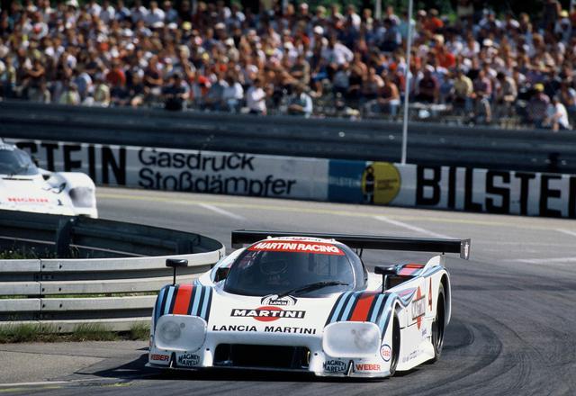 画像: ランチアが満を持して投入したグループCカー、ランチアLC2。1983年に登場。