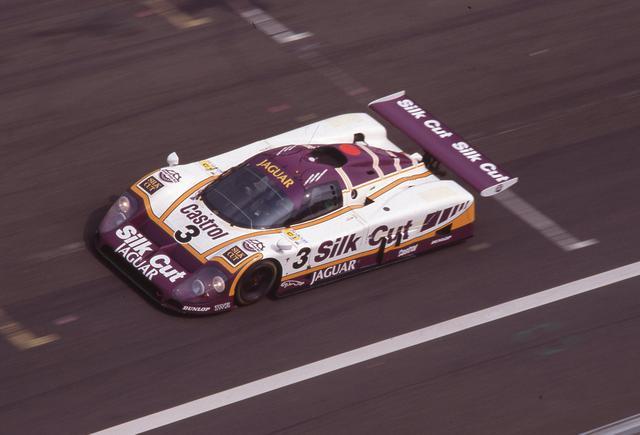 画像: 1988年のル・マンを制したジャガーXJR9 LM。WSPCシリーズでもチャンピオンとなっている。