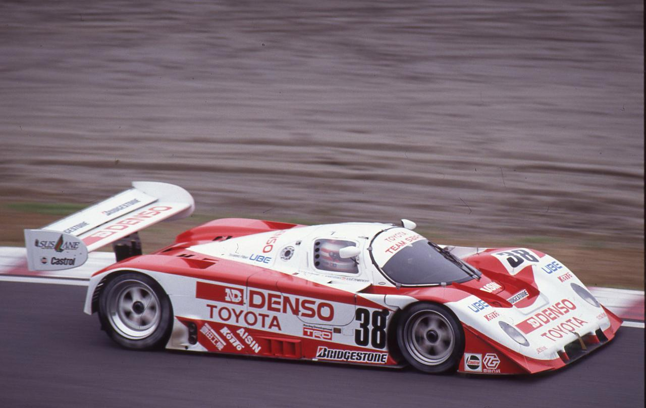 画像: 1991年のJSPCインターナショナル鈴鹿1000km。この年、トヨタ91C-Vはチャンピオンこそ逃したが、メイクスとしては最多の3勝をあげている。