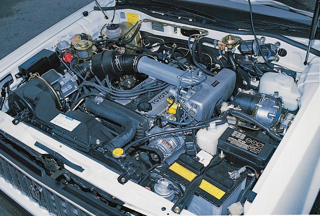 画像: 写真は1G-G ツインカム24エンジン。2Lながら最高出力160ps/最大トルク18.5kgmを発生した。