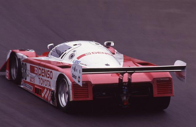 画像: トヨタ91C-Vは年を追うごとにさらに進化し、1994年のル・マンには94C-Vとして参加する。